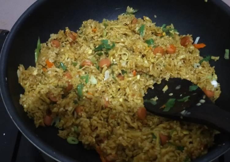 Resep: Nasi Goreng Mawut Gila pedas lezat