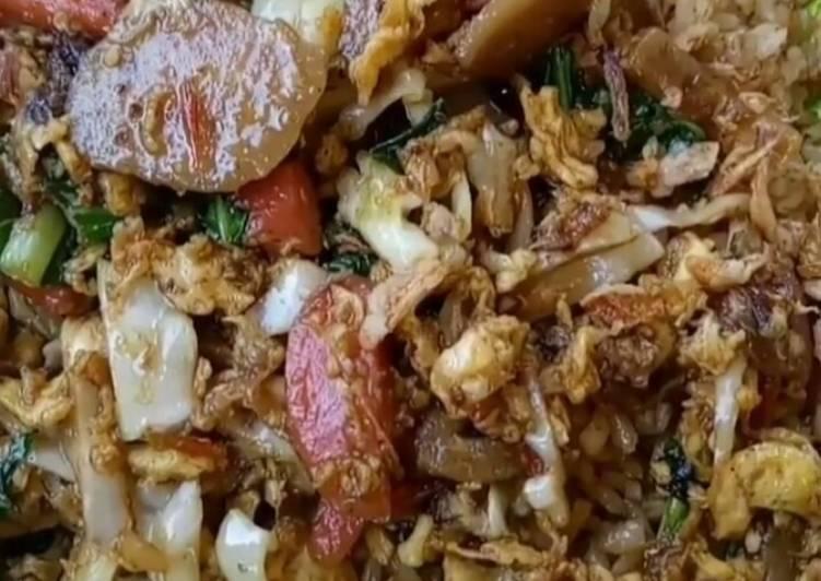 Resep: Nasi goreng gila lezat