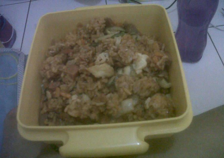 Resep: nasi goreng gila sabasis tren ala resto