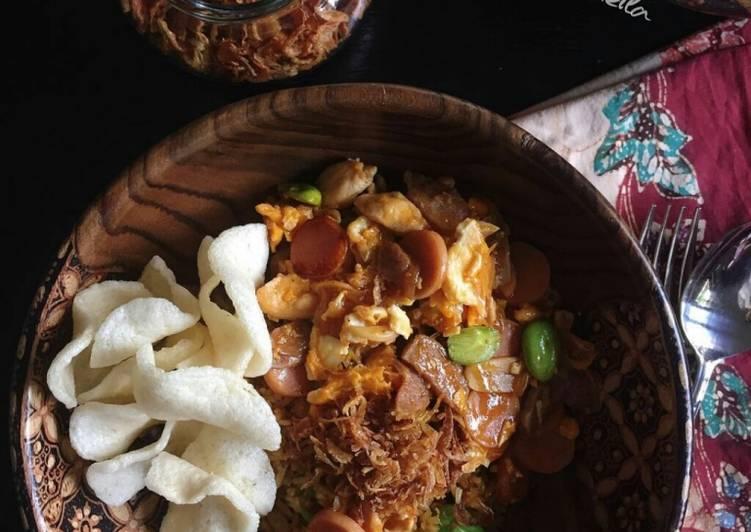 Nasi Goreng Gila ala Cooking with Sheila (#pr_homemadestreetfood)
