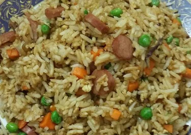 Cara mengolah Nasi goreng gila?? lezat