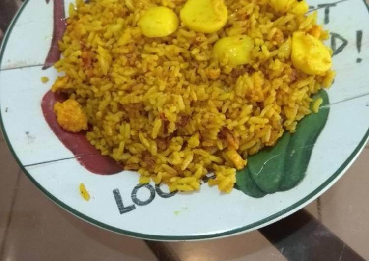Resep: Nasi goreng kuning