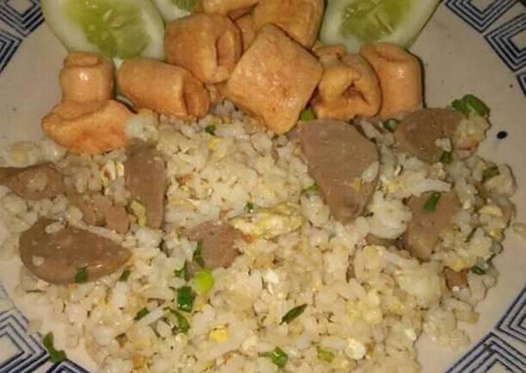 Resep memasak Nasi goreng bumbu kencur enak