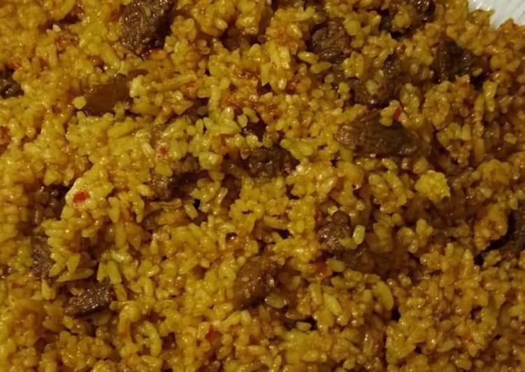 Resep: Nasi goreng kambing kebon sirih lezat