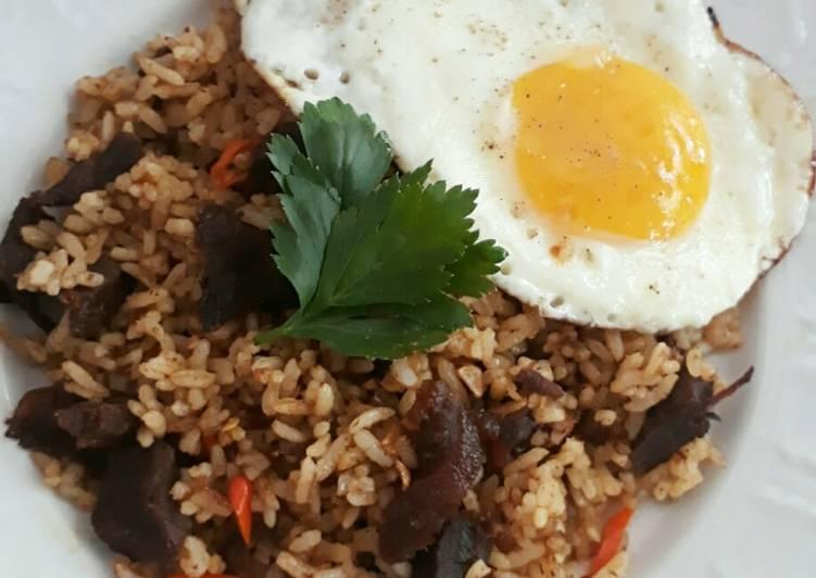 Cara Mudah memasak Nasi Goreng Kambing ala resto