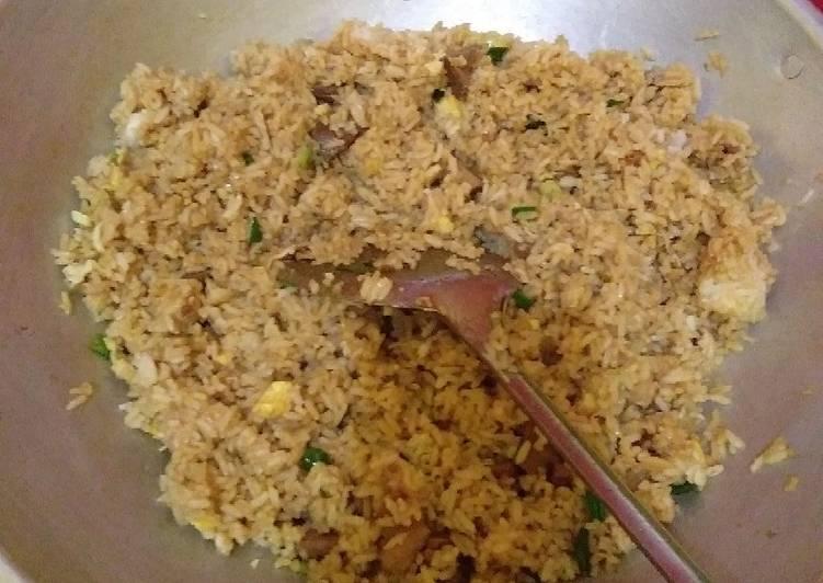 Resep: Nasi goreng kambing enak