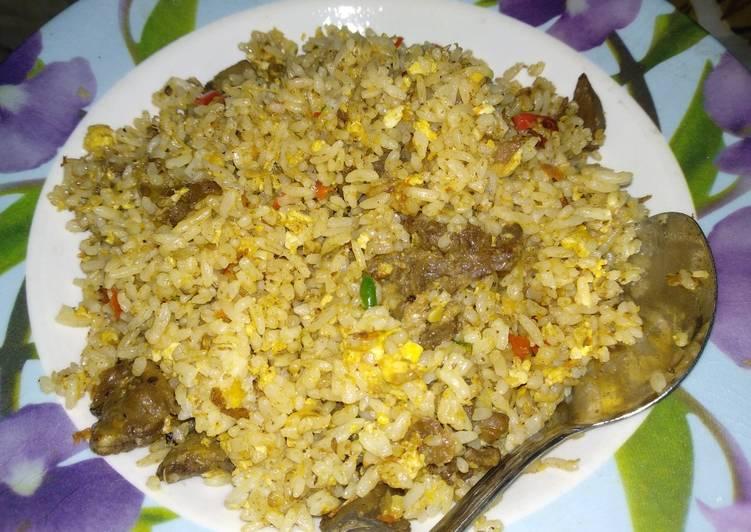 Resep: Nasi goreng kambing yang bikin ketagihan