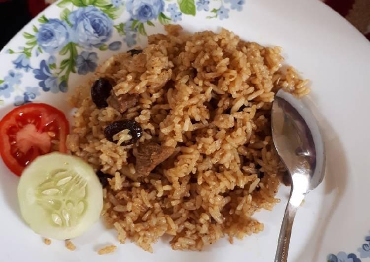 Resep: Nasi goreng kambing