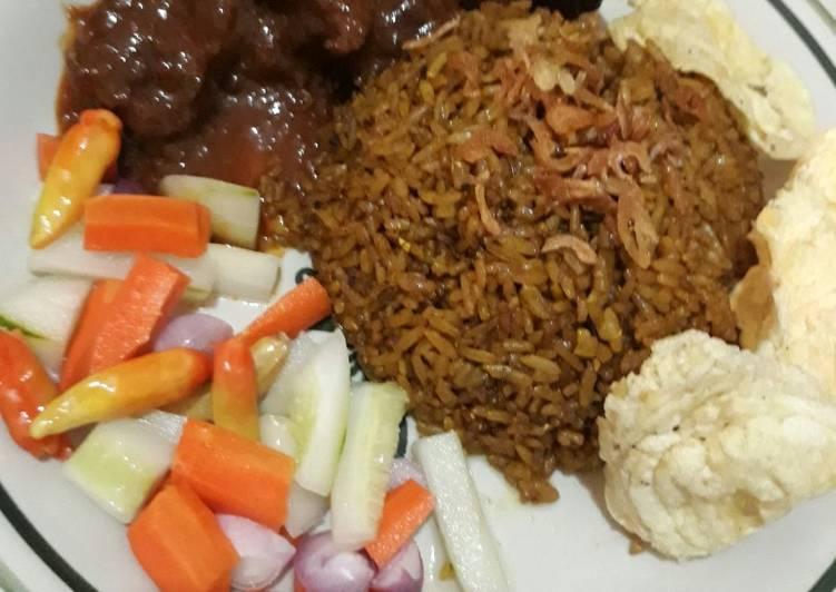 Resep: Nasi goreng kambing simple enak yang menggugah selera