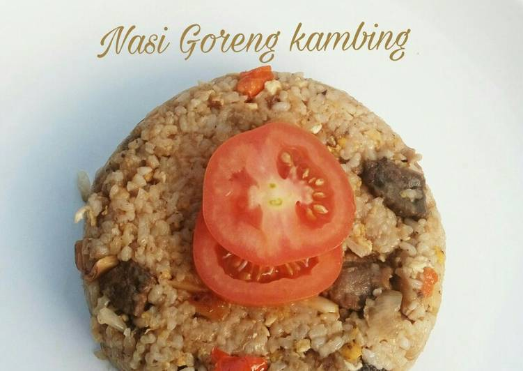 Cara memasak Nasi Goreng kambing yang menggugah selera