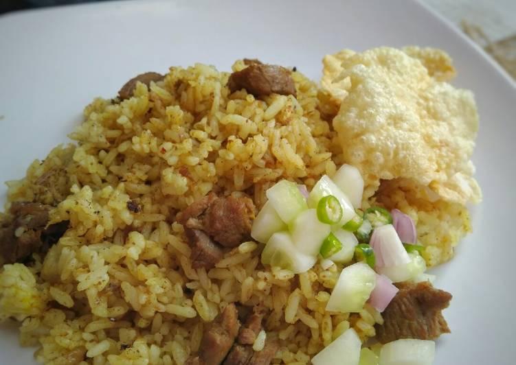 Nasi Goreng Kambing ala Kebon Sirih