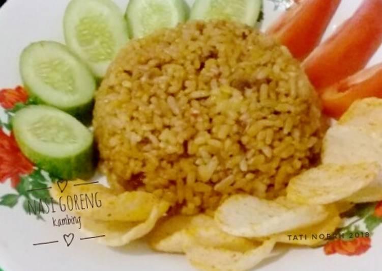 Resep: Nasi Goreng Kambing #Seninsemangat yang bikin ketagihan