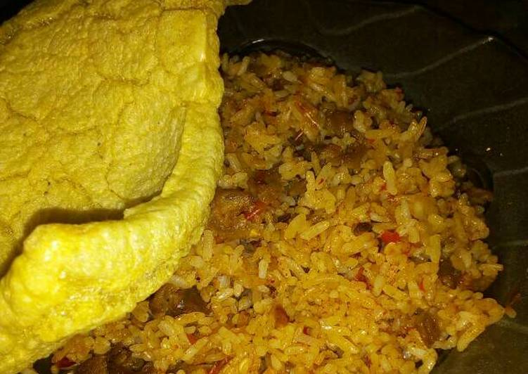 Resep: Nasi goreng kari kambing enak