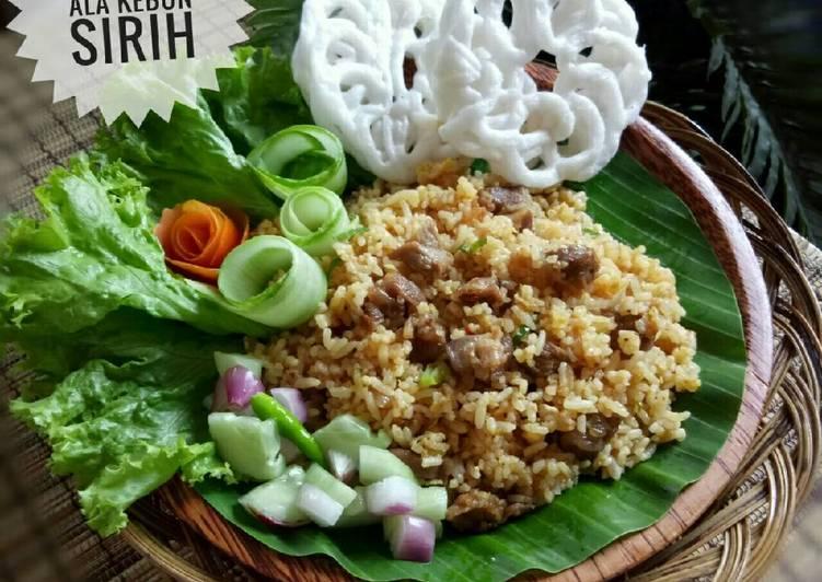 Cara memasak Nasi Goreng Kambing ala Kebon Sirih yang menggugah selera