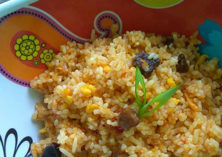Resep: Nasi Goreng Kambing (recycle sate kambing)