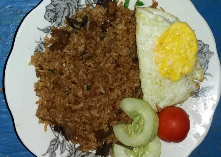Nasi Goreng Kambing Sederhana