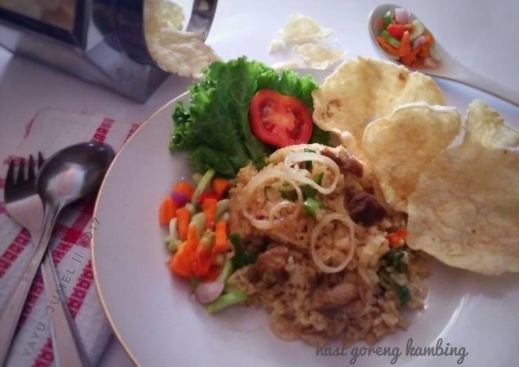 Cara Mudah membuat Nasi goreng kambing #kitaberbagi lezat