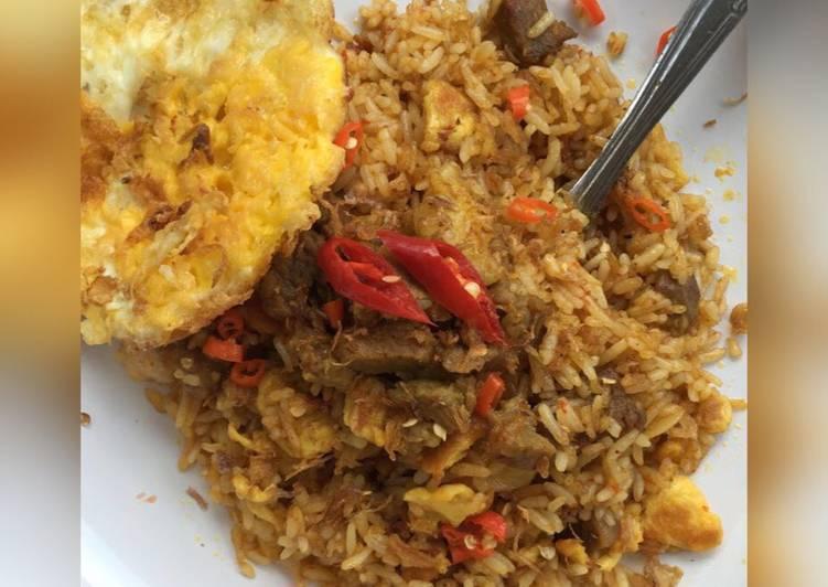 Nasi Goreng Kambing Spesial Kebon Sirih ?? #kitaberbagi #iduladha