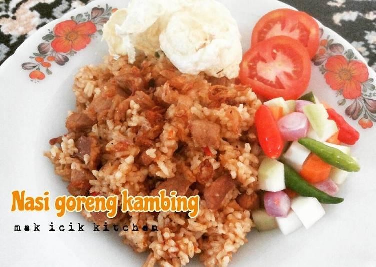 Cara Mudah mengolah Nasi goreng kambing ?? ala mak icik yang menggugah selera
