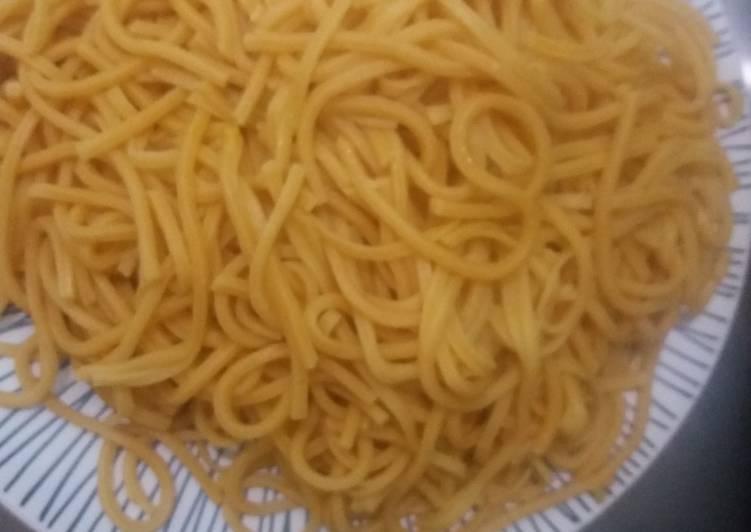 Resep: Mie Gomak Kuah Santan (Mie Kuning) yang menggugah selera