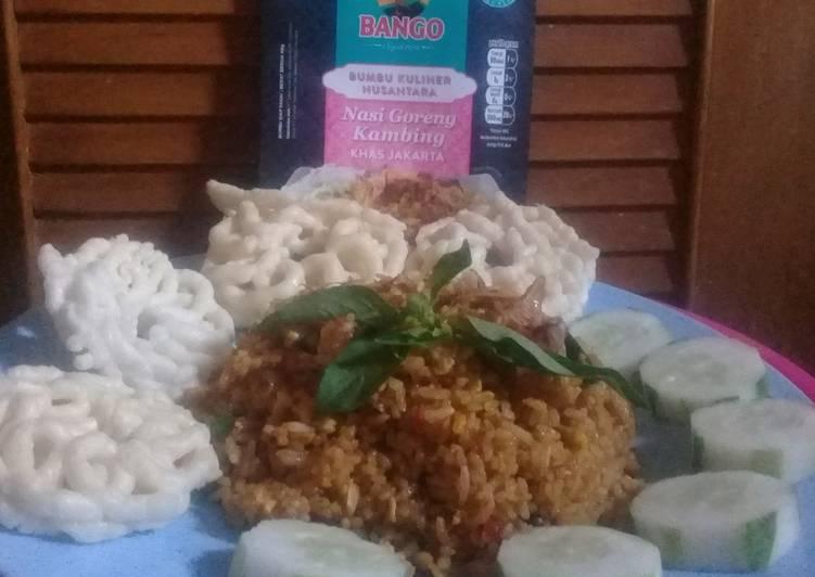 Resep: Nasi Goreng Kambing khas Jakarta istimewa