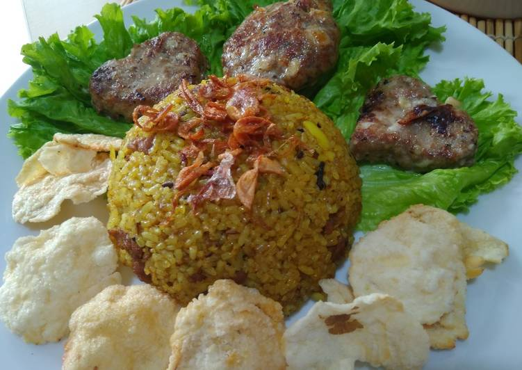 Resep membuat Nasi Goreng Kambing ala #TimurTengah yang bikin ketagihan