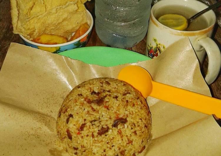 Cara membuat Nasi Goreng Kambing #KitaBerbagi yang bikin ketagihan