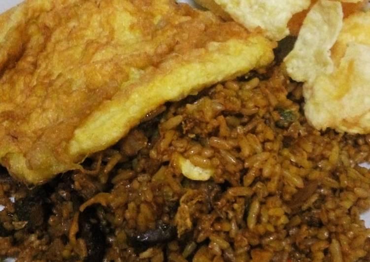 Resep: Nasi goreng kambing ala resto