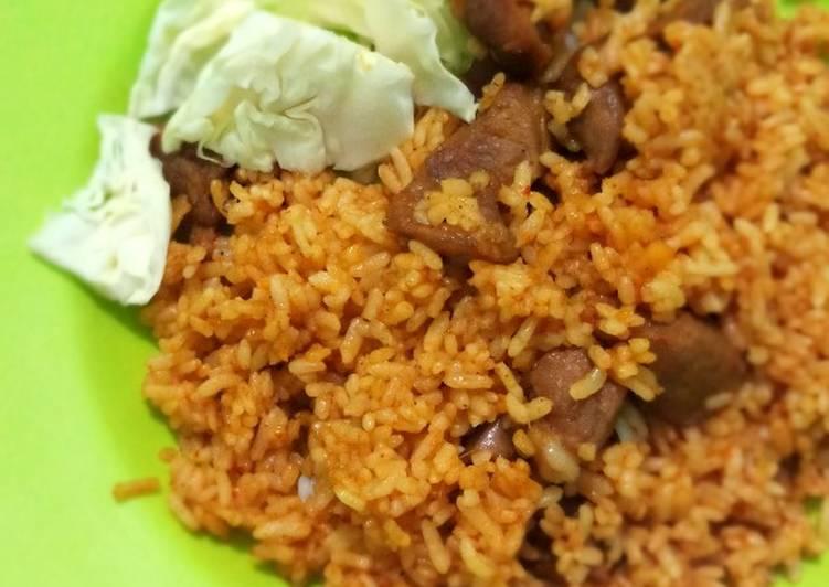 Nasi Goreng Kambing simple untuk sarapan