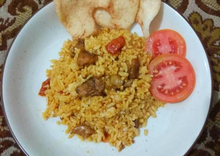Resep: Nasi goreng kambing lezat