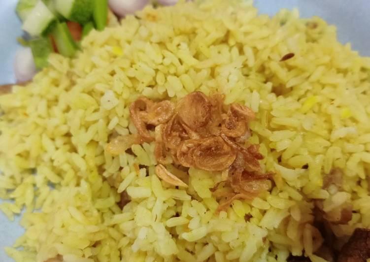 Nasi kebuli mudah dan enak