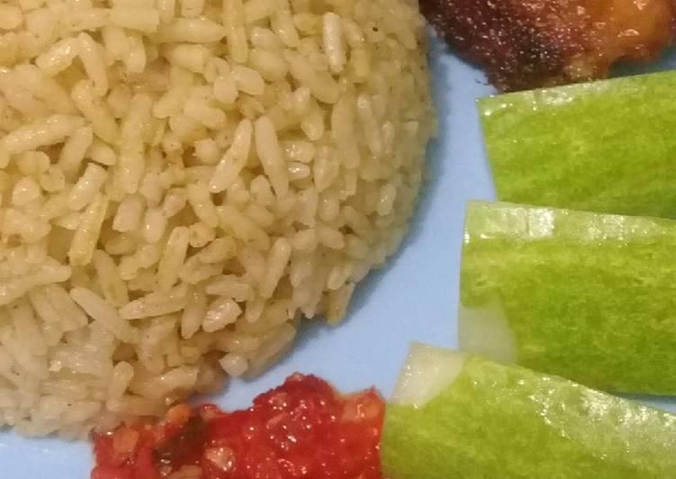Resep membuat Nasi kebuli ayam sedap