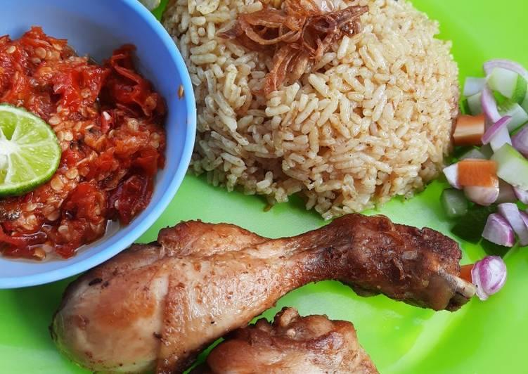 Resep: Nasi Kebuli Ayam yang bikin ketagihan