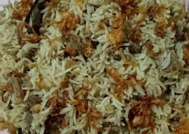 Resep memasak Nasi kebuli sapi #bumbu indonesia enak