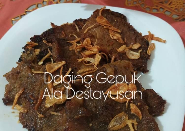 Daging Gepuk