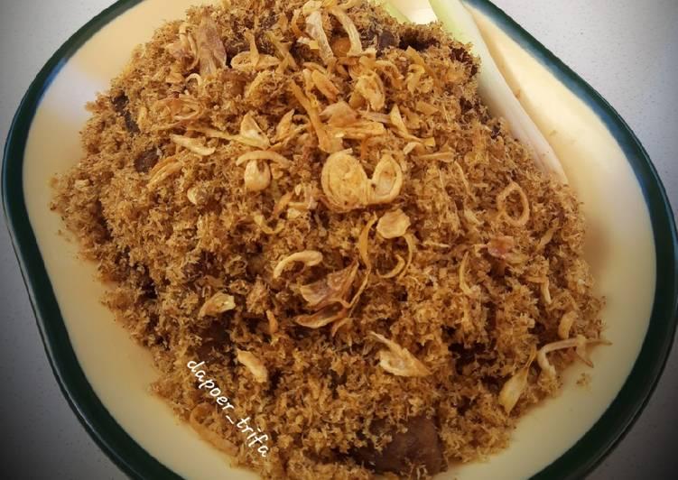 Cara Mudah memasak Empal Gepuk Serundeng (air kelapa) istimewa