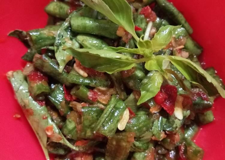 Karedok Kacang Panjang Sunda