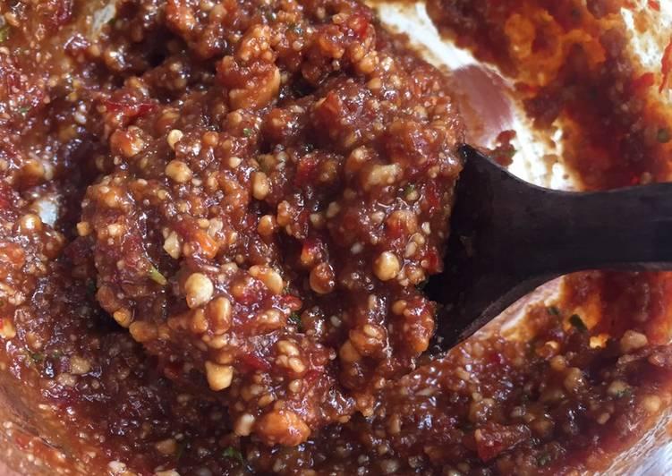 Resep: Bumbu Kacang Karedok praktis lezat