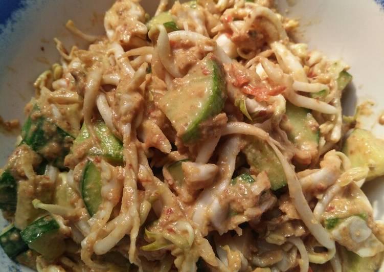 Resep memasak Karedok sederhana ala resto