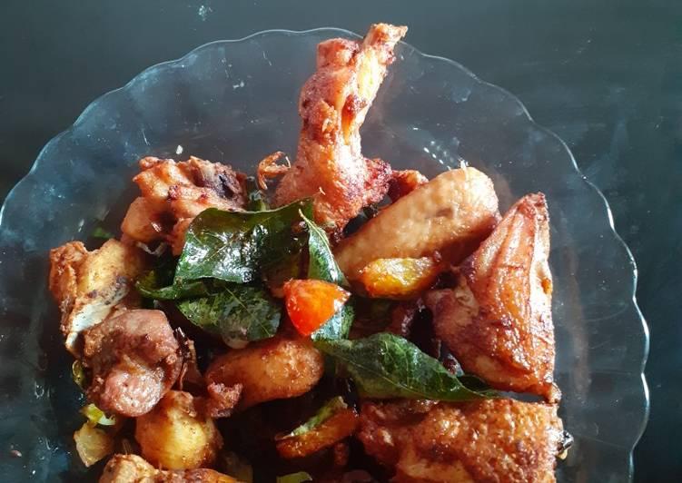 Resep: Ayam Tangkap sederhana yang menggugah selera