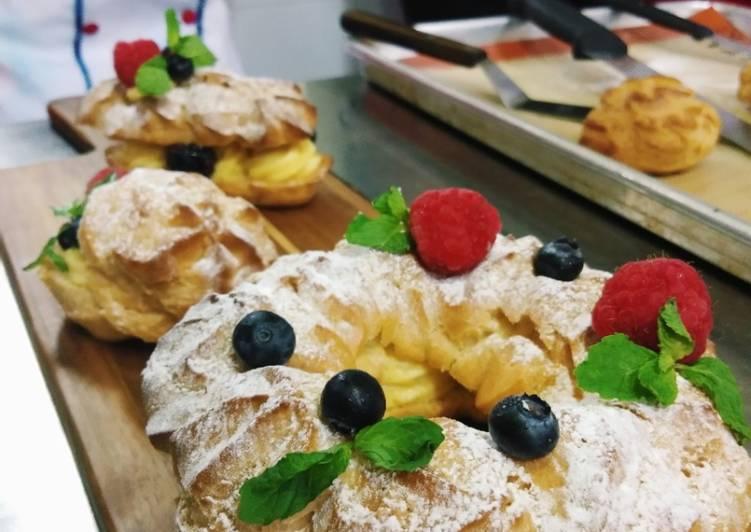 Cara membuat Kue sus atau Choux paste (part 1) lezat