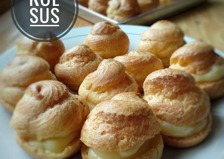 Kue Sus Vla / Choux Pastry