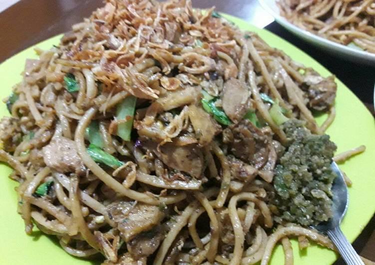 Cara memasak Mie Gomak ala resto