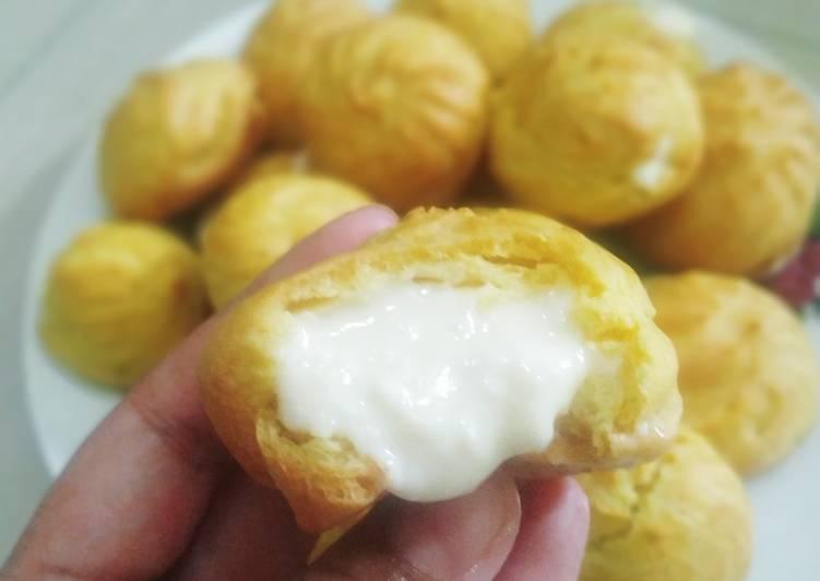 Resep: Kue Soes/Sus Oven Tangkring Anti Gagal ala resto
