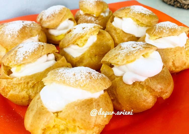 Choux Pastry a.k.a Kue Sus