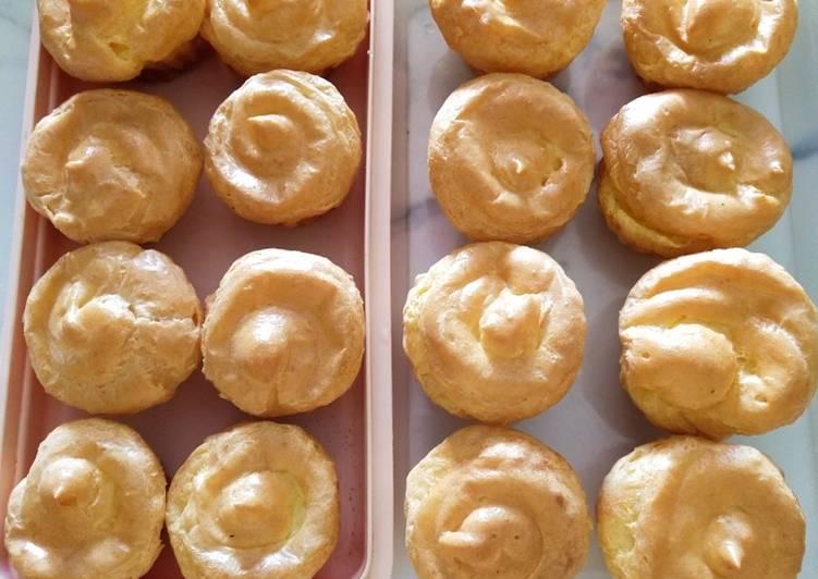 Cara memasak Sus fla durian yang menggugah selera