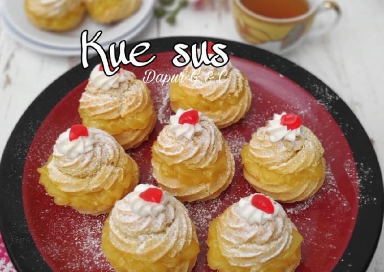 Resep: Kue sus/choux istimewa