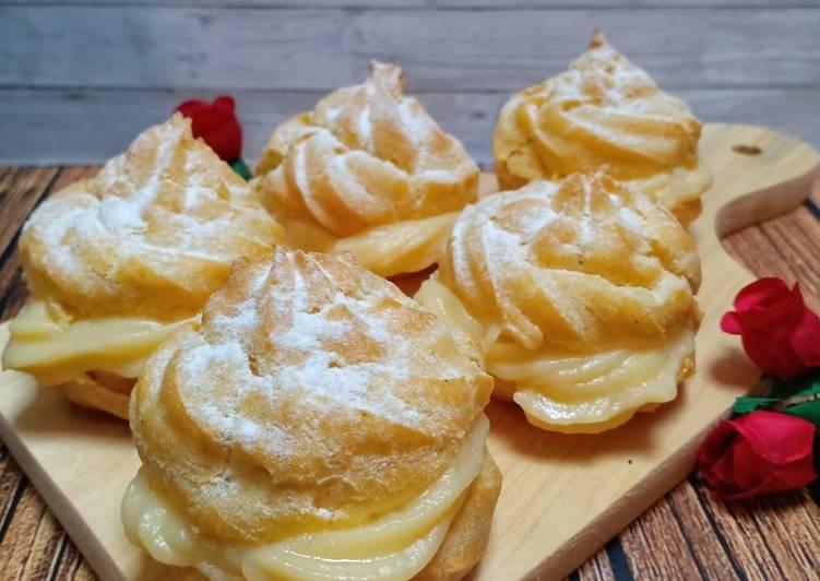 Resep: Sus/Soes Vla Vanilla (easy n yummy) istimewa