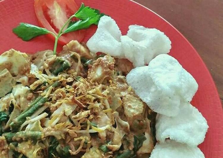 Resep: Lotek (makanan khas bandung) lezat