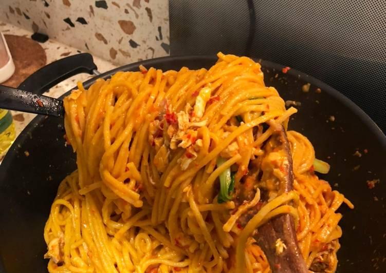 Resep membuat Mie Gomak khas Medan lezat